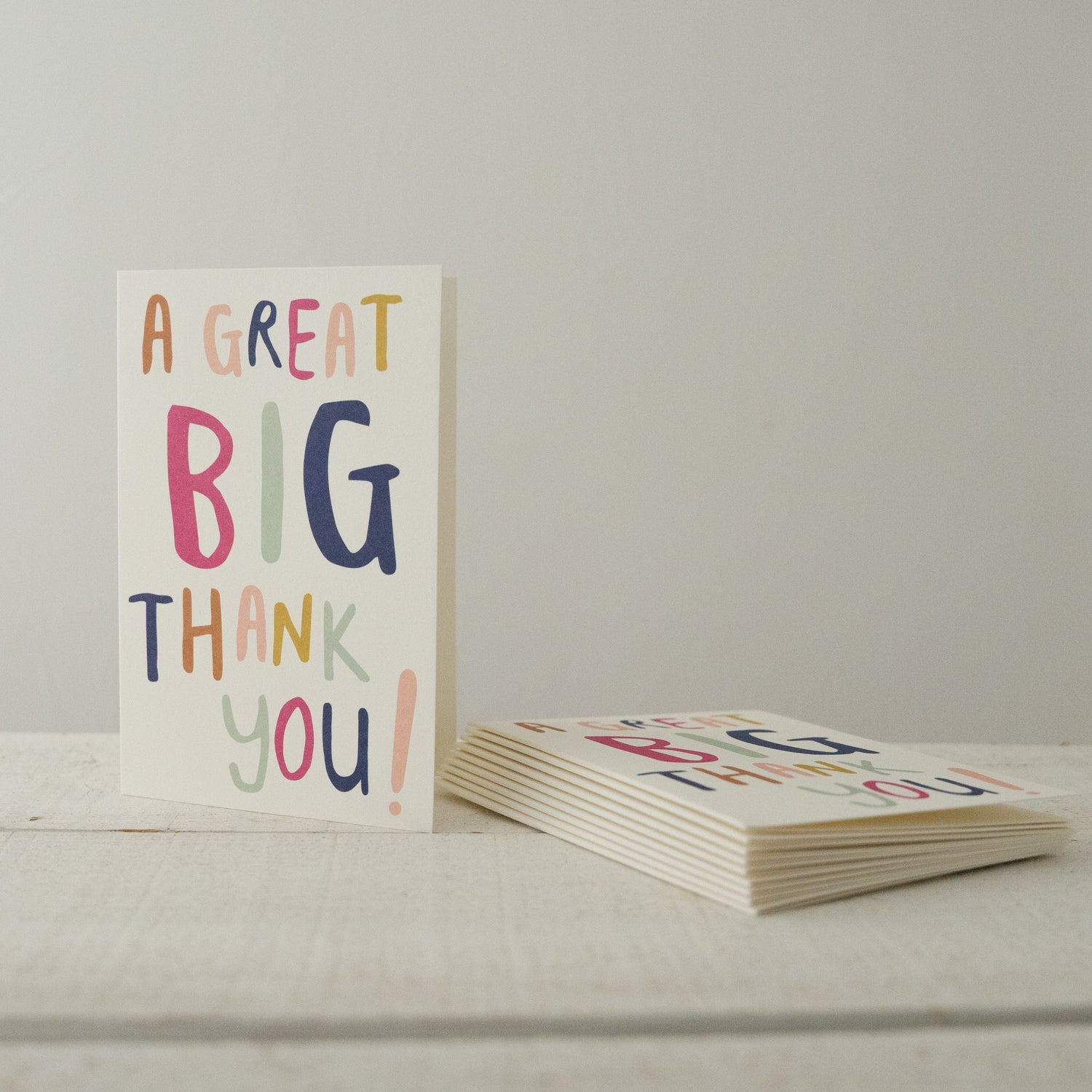 A Great Big Thank You! Notecards
