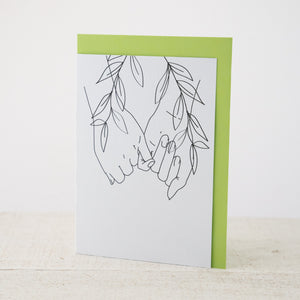 Pinky  Promise - Greeting Card.