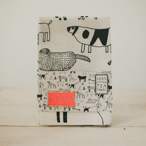 Delightful Dogs Tea Towel