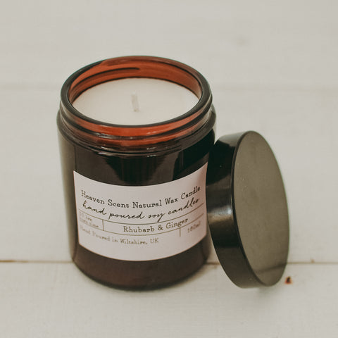 Rhubarb & Ginger Soy Wax Candle