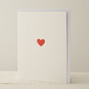 Mini Card - Heart