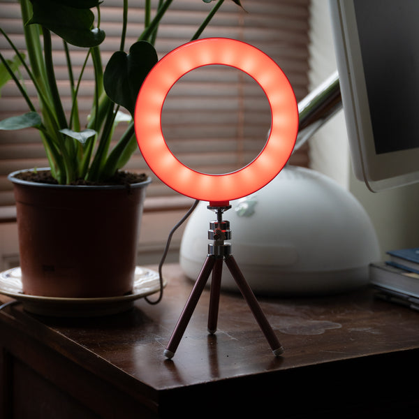 Colour Stream Ring Light 6""