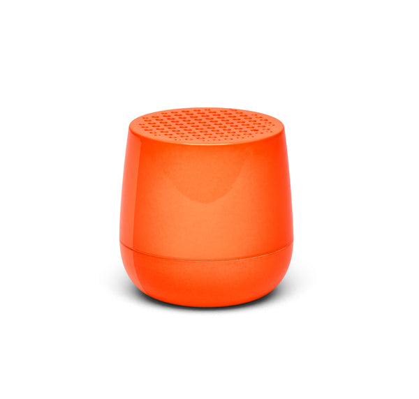 Lexon Mino Bluetooth Speaker - Orange Fluro
