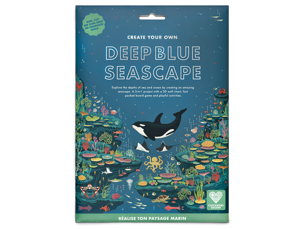 Create Your Own: Deep Blue Seascape