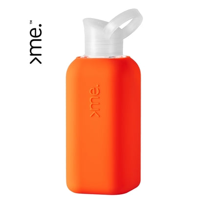 Glass Eco Bottle - Coral