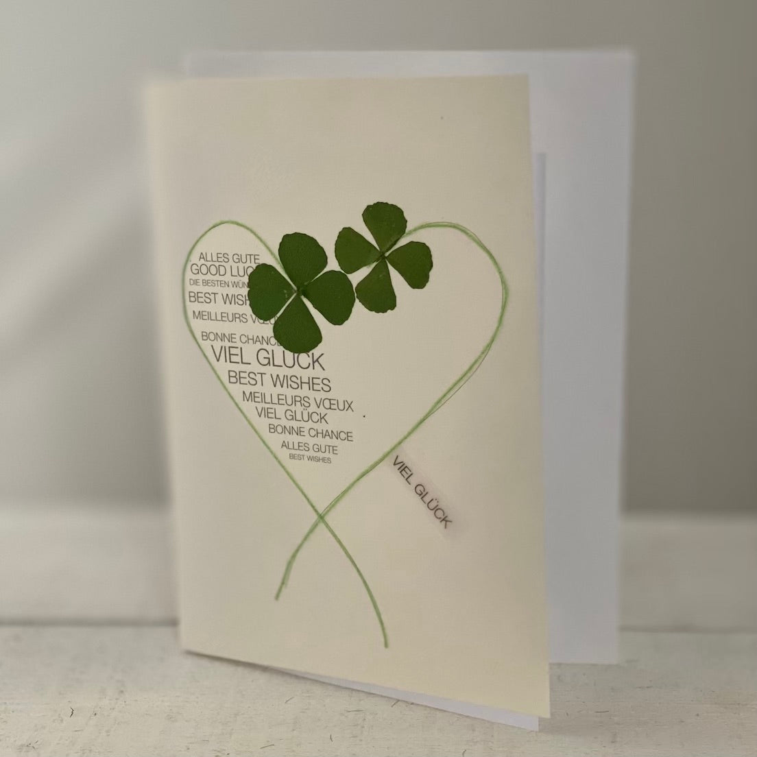 Good Luck-Greeting Card
