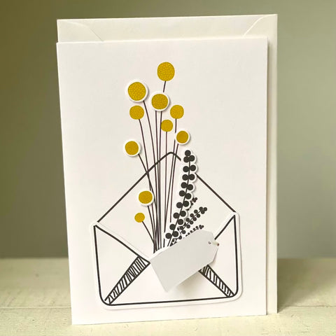 Petits Craspedias - Greeting Card