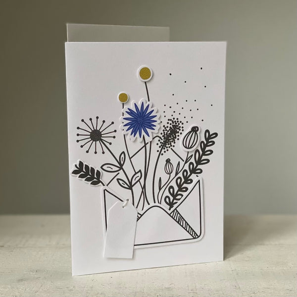 Cornflower - Greeting Card