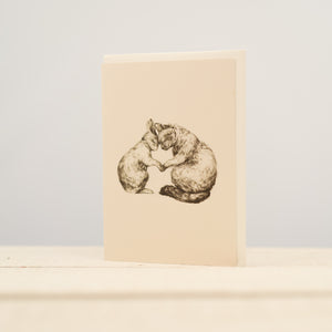 Mondoodle - Greeting Card