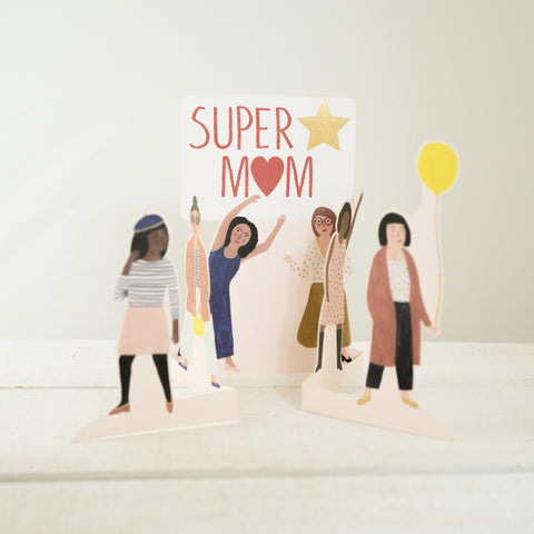 Super Mum - Greeting Card