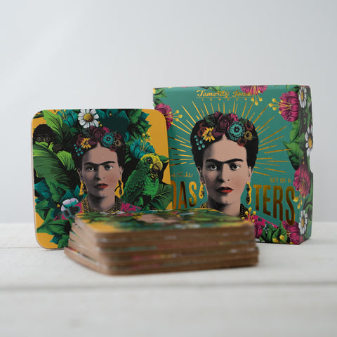 Frida Kahlo - Box of Six Coasters