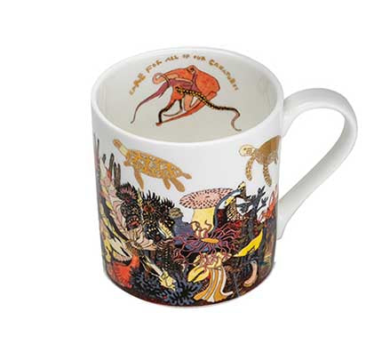 Angels of the Deep Fine Bone China Mug