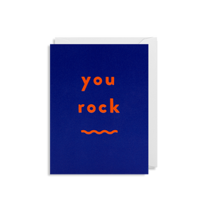 You Rock Mini Card