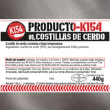 K154-01. COSTILLAS DE CERDO - Kitchen 154 S.L.