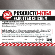 K154-28. BUTTER CHICKEN - Kitchen 154 Comida picante en Madrid. Platos preparados a domicilio