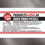 K154-43. BASE PARA PICKLE
