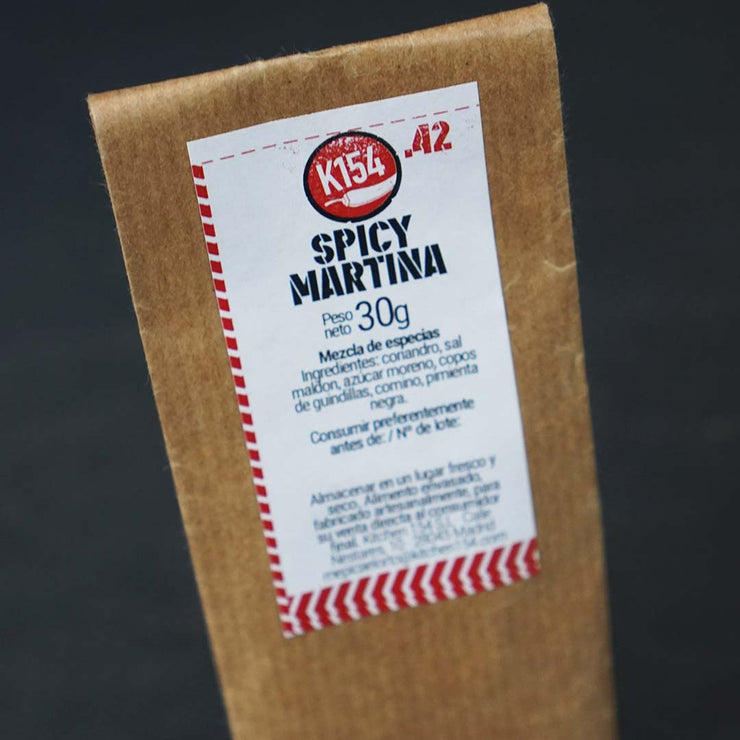 K154-42. SPICY MARTINA - Kitchen 154 Comida picante en Madrid. Platos preparados a domicilio