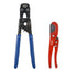 "PEX Clamp Cinch Tool with Pex Pipe Cutter  for 3/8"" - 1""Stainless Steel Clamps meet ASTM F2098 Standard -CRP0409"