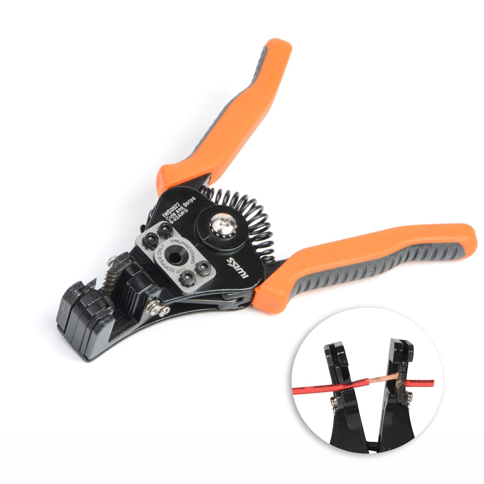 IWS-0822 Wire Stripper/Cutter Tools for AWG 22-8