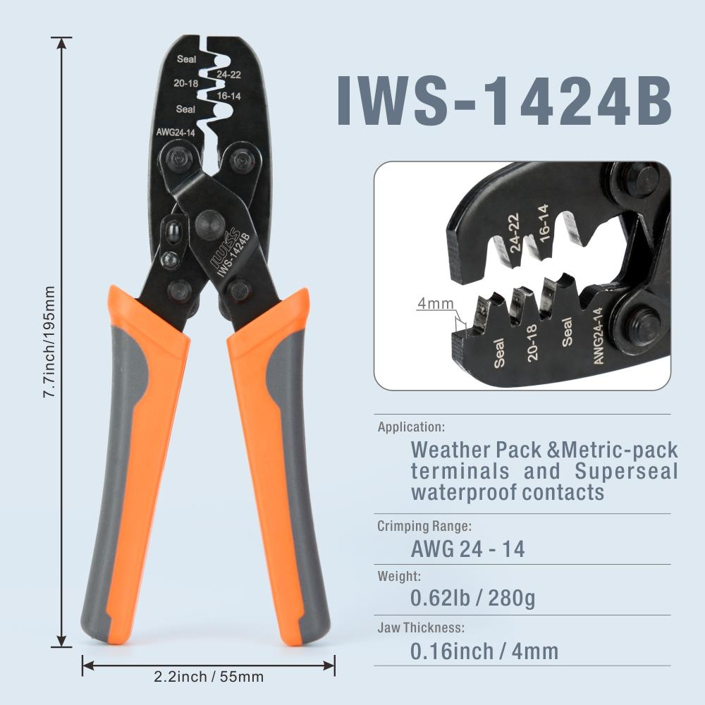 KIT-1106 Weather Pack Tool Kit  for 20-12 Gauge