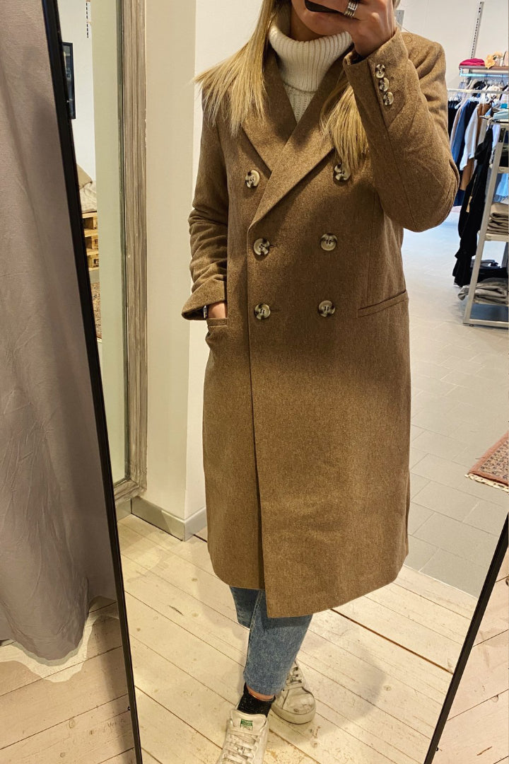 CAPPOTTO TAUPE