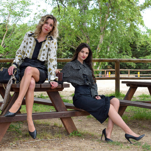 Jessica & Laura shooting photo pour friperie blog 5