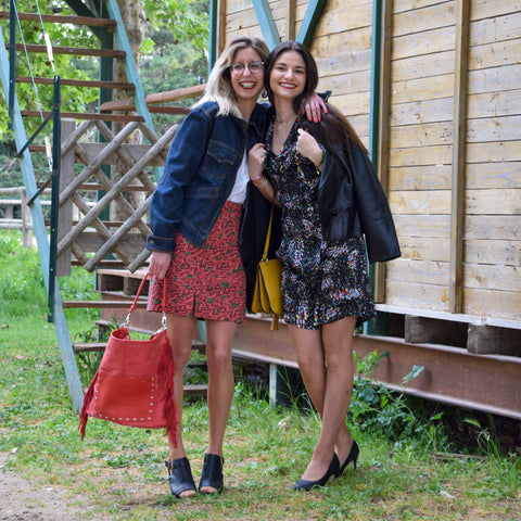 Jessica & Laura shooting photo pour friperie blog 2