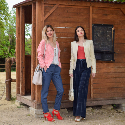 Jessica & Laura shooting photo pour friperie blog