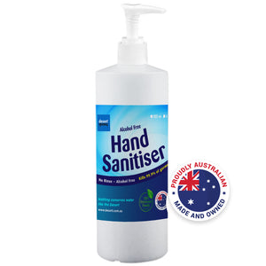 Alcohol-Free Hand Sanitiser 4 x 500ml Bottle with Pump