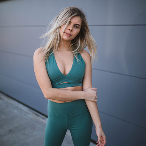 Laguna Sports Bra - Emerald