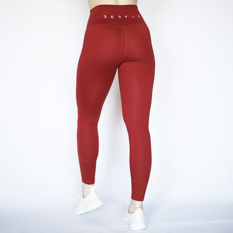 Laguna Legging - Ruby - Back