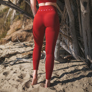 Laguna Legging - Ruby on the beach