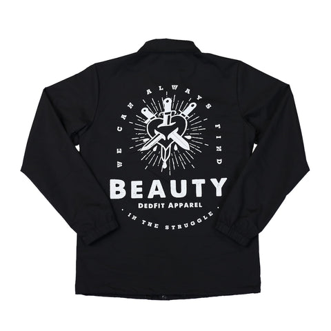 Beauty In The Struggle Coaches Jacket