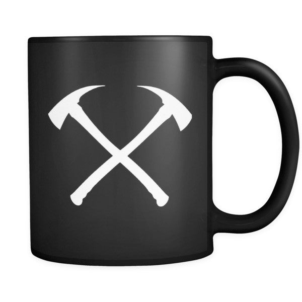 Black Ceramic Mugs