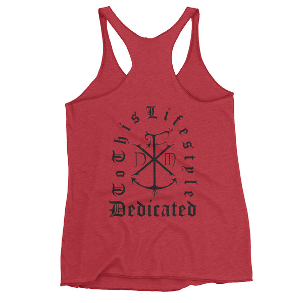 Women's Headstone Racerback