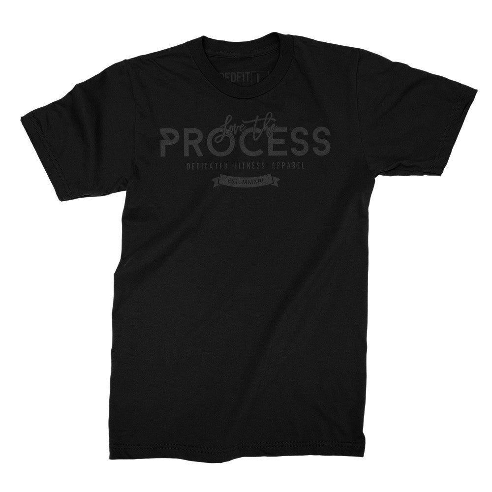 Love The Process Tee Black Edition