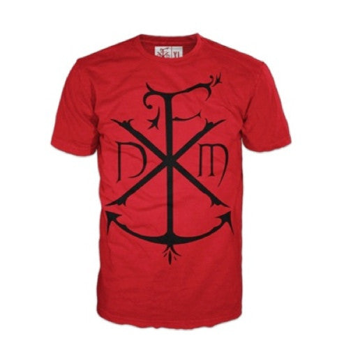 DedFit Anchor Tee Red (Clearance)
