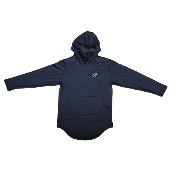 French Terry Scoop Hoodie