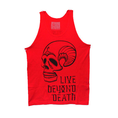 Red Live Beyond Death Tank (Clearance)