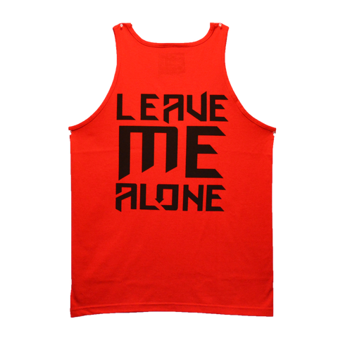 Leave Me Alone Tank Red (Clearance)
