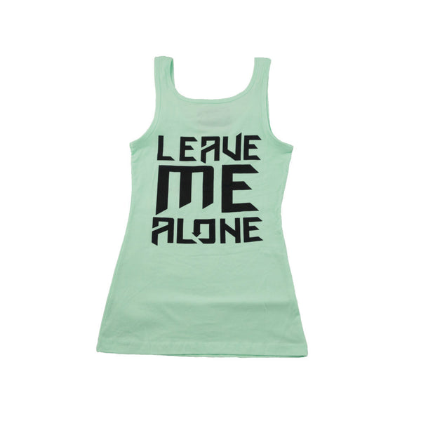 Ladies Leave Me Alone Tank Mint