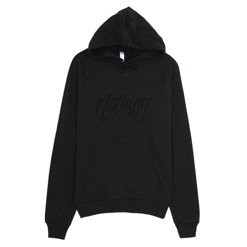 Entitled To Nothing Hoodie Black Edition (Unisex)