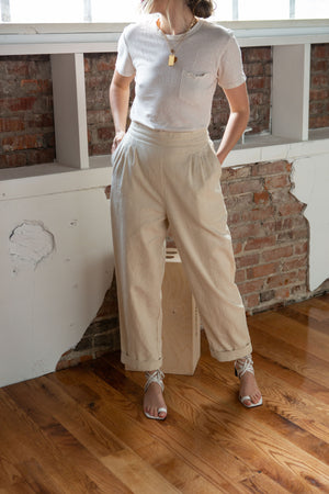 Darby Pant in Sand