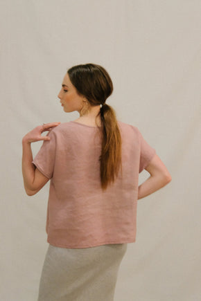 Meryl Top in Mauve