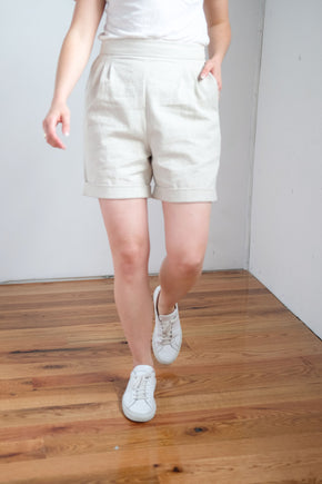 Darby Short in Oatmeal