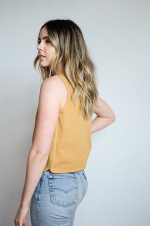 Winona Top in Gold
