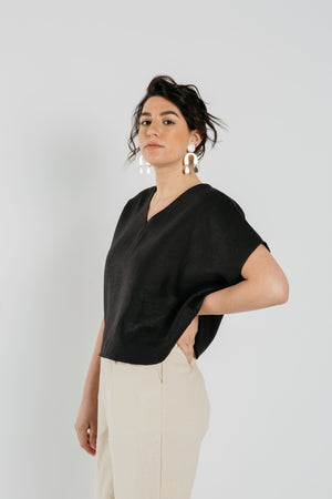 Meryl Top in Black