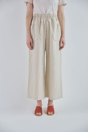 Avery pant in Sand