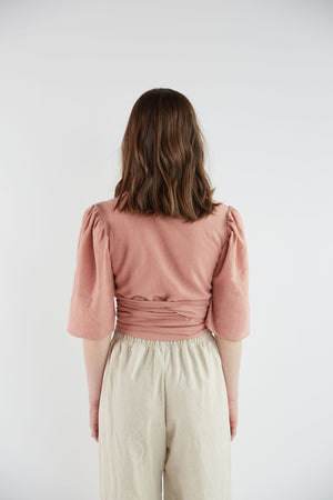 Reah Top in Rosewood