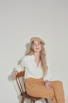 Dawn top in Ivory